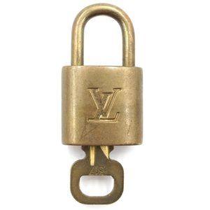 Louis Vuitton Gold Keepall Speedy Lock Key Set#317